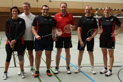 Badminton Mannschaft 2 Saison 2015/16